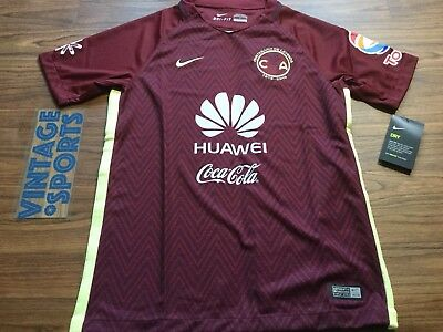 Club America Aguilas Mexico Futbol Soccer Nike New Jersey YOUTH Large Niño a04065de7fa