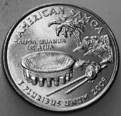 2009-P State Quarter Uncirculated BU American Samoa AS