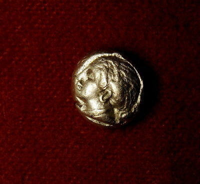 Ancient Greek Gold Coin. Unpublished Very RARE 1/6 Stater. Hecte. Ionia Phocaea