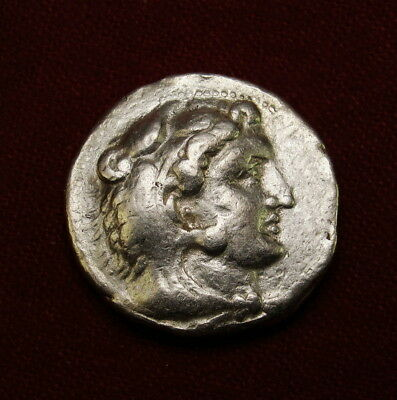 Alexander the Great Lifetime Tetradrachm.Sidon mint from General Menes. SCARCE