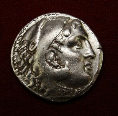 Rhodes Tetradrachm. Extremely rare.1 of only 2 coins in Coin Archives.Cretan War