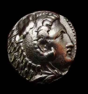 Alexander the Great Tetradrachm. Celtic mint After Babylon lifetime issue.Scarce