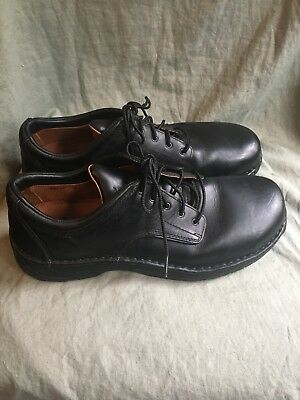 Mens REDWING Shoes Steel Toe 11 Black Leather SD