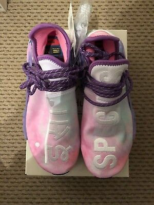 wholesale dealer 493fb 2b648 Brand New Adidas Pharrell Williams Hu Holi NMD - Pink Glow - Size UK 7.5