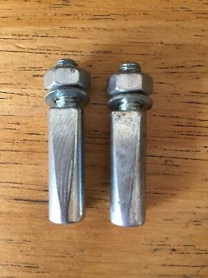 NOS Bicycle Crank Cotter Pin 9.5mm Cottered Pin pair
