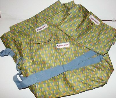 Three Tupperware vinyl lined grocery bags.   NEW NEVER USED