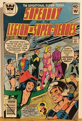 Superboy and the Legion of Super Heroes Whitman Variant DC 1979