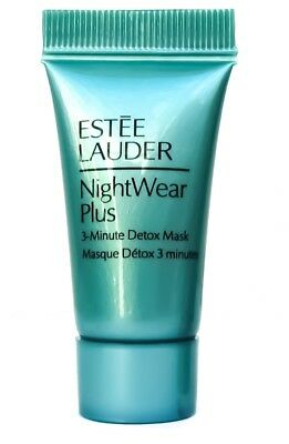 Estee Lauder NightWear Night Wear Plus 3 Minute Detox Maske Mask 7 ml Probe NEU