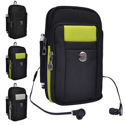 buy popular e6102 bea7f UNIVERSAL SPORT TRAVEL Belt Clip Phone Pouch Carry Case With Stap For Cell  Phone