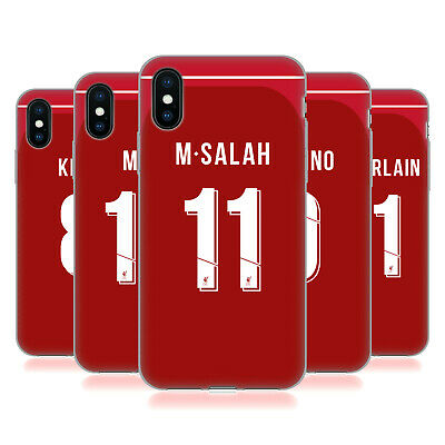 LIVERPOOL FC LFC 2018/19 PLAYERS HOME KIT 1 GEL CASE FOR APPLE iPHONE PHONES