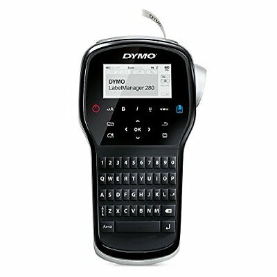 Brand New DYMO LabelManager 280 Rechargeable Hand-Held Label Maker