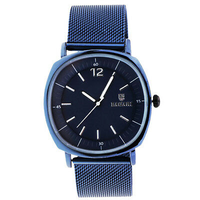 BAGARI Business Quartz Watch Stainless Stain Strap Watch Christmas Gift Blue