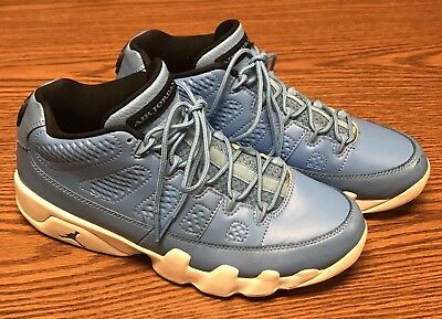 5b796eda3d89 Nike 832822 401 Air Jordan 9 Retro Low Pantone University Blue White Men s  ...