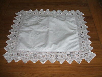 Vintage Lace Pillow Case
