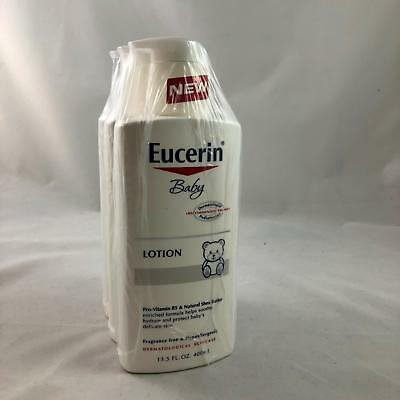 Eucerin Baby Body Lotion 13.5 Fluid Ounce 3-PACK