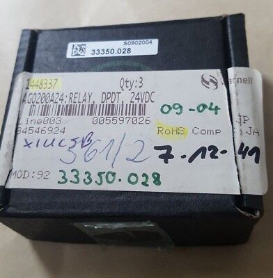 3 Pcs Of Panasonic Ago200A24 24Vdc Relay (U2..6B3)