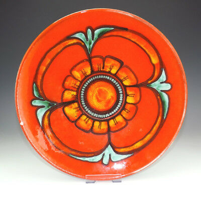 Poole Pottery - Delphis Studio Abstract Charger - Retro 1970's!
