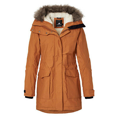 Didriksons Meja Women's Parka Winter Art 501854-087 Leather Brown Gr 34 - 44 NEU