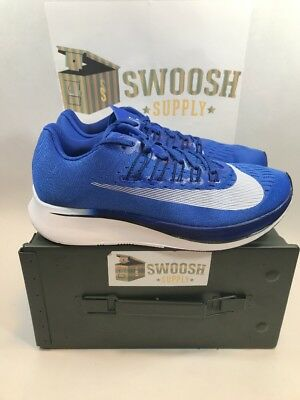 promo code dba11 e66e9 Nike Zoom Fly Hyper Royal Blue White Running Shoes Sneakers 880848-411 Size  12