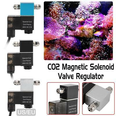 CO2 Solenoid Valve Aquarium Fish Tank Electric Magnetic Valve For Aquarium Plant