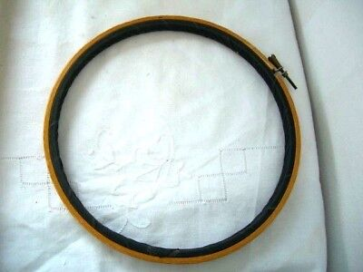 Wooden Embroidery Cross Stitch Ring Hoop 8""