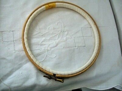 Wooden Embroidery Cross Stitch Ring Hoop 6""