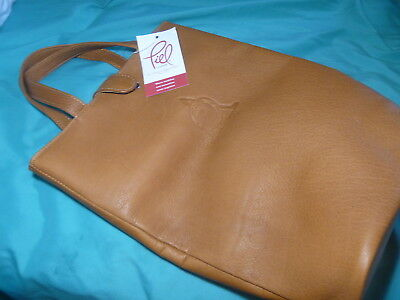 Piel Naked Genuine  Leather  Bag Shoe Tote Made In Colombia Golf Classic Russell