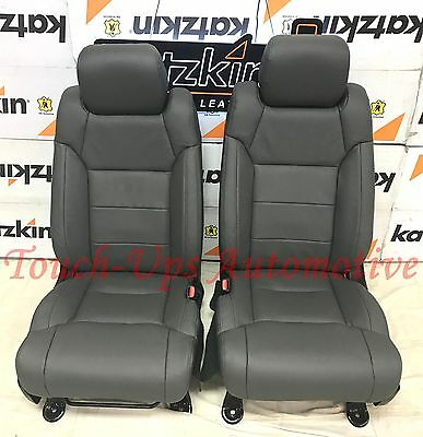 Excellent 2014 2019 Toyota Tundra Crewmax Katzkin Charcoal Leather Pabps2019 Chair Design Images Pabps2019Com