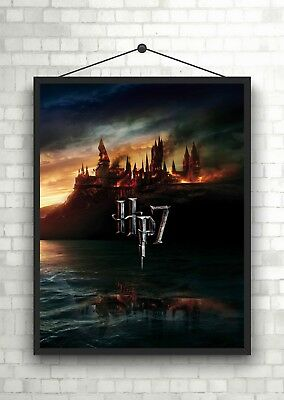 Harry Potter Deathly Hallows Classic Movie Poster Art Print A0 A1 A2 A3 A4 Maxi