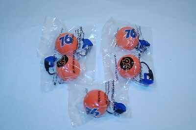 Lot (5) New/Sealed Union 76 Antenna Ball Topper with Gas Pump A33
