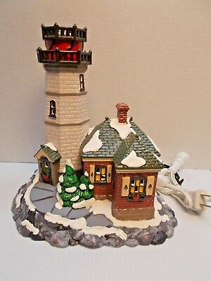 DEPT 56-54836 CHRISTMAS COVE LIGHTHOUSE NEW c