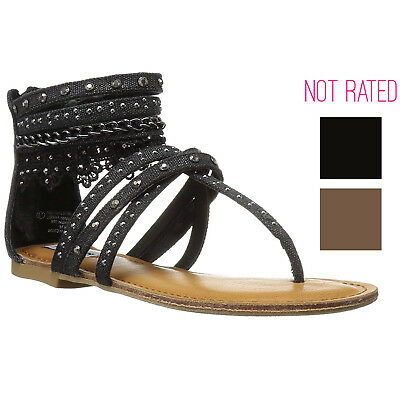 0fac168de87b NOT RATED NAUGHTY Monkey Wilma Women s Lace Gladiator Sandals ...