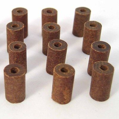 "Phenolic Threaded Spacers/Standoffs, 4/40 x 7/16"" Long: 12/Lot: HH Smith 8669"