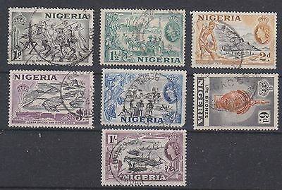 Nigeria, 1953, selection, used
