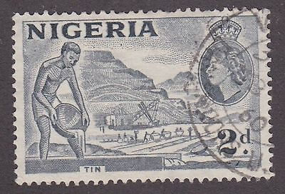 Nigeria, 1956, 2d grey, SG72c, Sc93, used