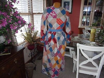 Ladies Vintage 1950's 60's Long Dress ( Size Small )