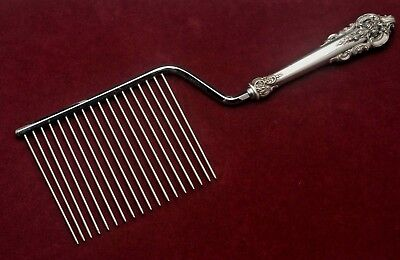 Grande Baroque by Wallace Sterling Silver Hollow Handle Cake Breaker