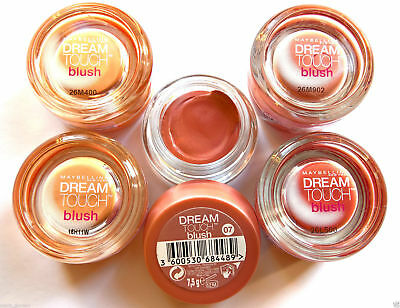 Maybelline Dream Touch Mousse Soft Blush - Apricot Peach Coral Plum Pink