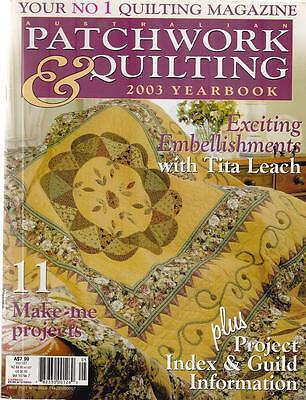 PATCHWORK & QUILTING - vol 10 n° 7