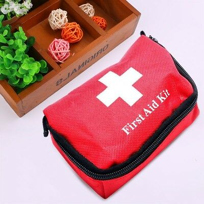 11pcs Family First Aid Kit Set Outdoor Emergency Bag Case Camping Medical 8CD2