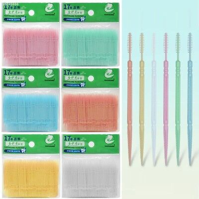 100Pcs 2 Way Dental Picks Tooth Picks Convenient Home Hotel Tooth Safety B8C7