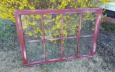 VINTAGE SASH ANTIQUE WOOD WINDOW SHABBY FRAME PINTEREST RUSTIC DISTRESSED 36x27
