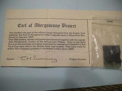 Shipwreck Artifact from the Earl of Abergavenny