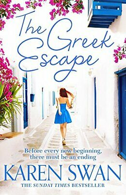 The Greek Escape by Swan, Karen Book The Cheap Fast Free Post