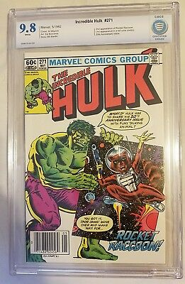 The Incredible Hulk #271 in 9.8 Newsstand Version