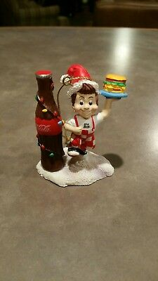2002 Coca Cola Frisch's Big Boy Ornament