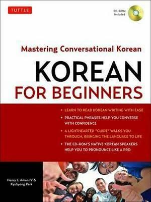 NEW Korean for Beginners By Henry J. Amen Paperback Free Shipping