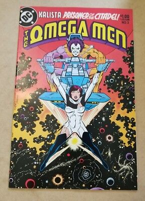 The Omega Men #3 (1983) NM- HIGH GRADE 1st APP LOBO KEY APPEARANCE 9.2 K. GIFFEN