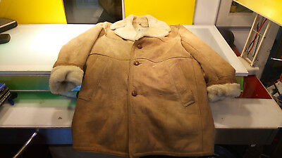 London Fog Maincoats Permisson Lambskin Shearling NICE Womens Size 42 good shape