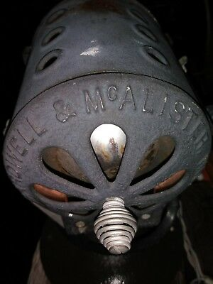Antique Bardwell McAllister Vintage Movie Keg Light Video Steampunk Collectible